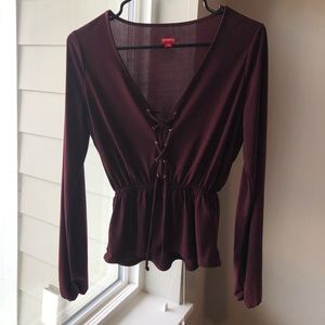 Guess Blouse with a Modern Corset